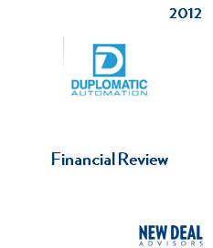 Duplomatic Financial