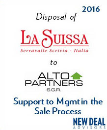 Disposal of La Suissa