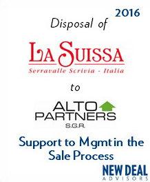 Disposal of La Suissa