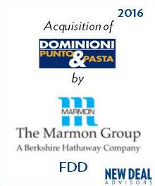 Acquisition of Dominioni