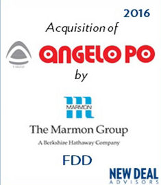 Acquisition of Angelo Po