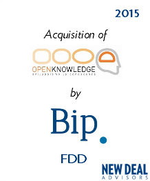 Acquisition of OPENKNOWLEDGE