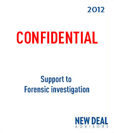 Support to Forensic Investigation 2012