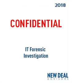 IT Forensic Investigation 2018