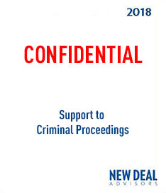 Support to Criminal Proceedings 2018