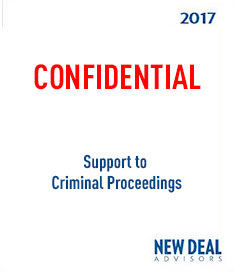 Support to Criminal Proceedings 2017