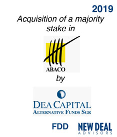 Acquisition of a majority stake in Abaco