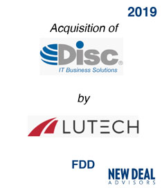 Acquisition of Disc