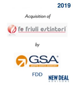 Acquisition of Friuli Estintori