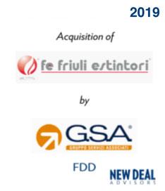 Acquisition of Friuli Estintori