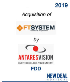 Acquisition of FTSystem by AntaresVision