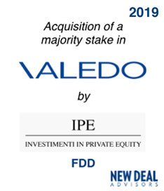 Acquisition of Valedo by IPE