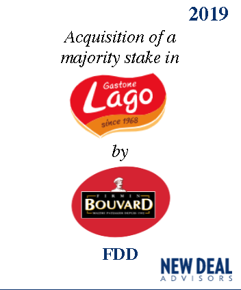 Acquisition of a majority stake in Gastone Lago by FDD