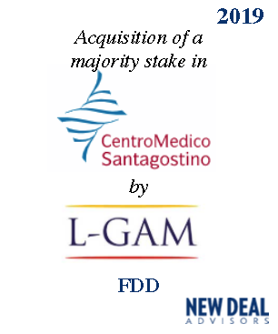 Acquisition of a majority stake in Centro Medico Sant'Agostino