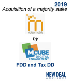 Acquisition of a majority stake in MCube Digital Engagement