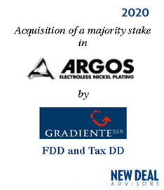Acquisition of a majority stake in Argos