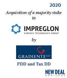 Acquisition of a majority stake in Impreglon