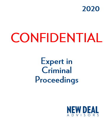 Expert in Criminal Proceedings