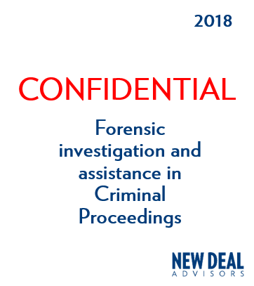 Forensic investigation and assistance in Criminal Proceedings