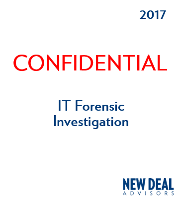IT Forensic Investigation