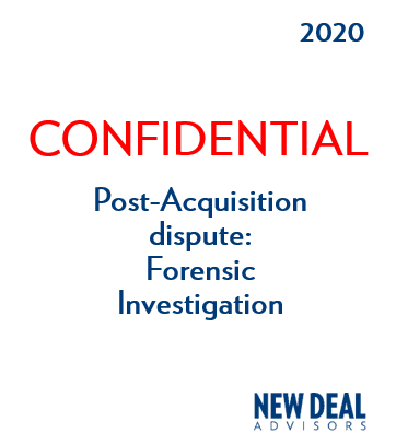 Post-Acquisition dispute: Forensic Investigation