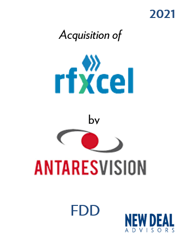 Acquisition of rfxcel by Antares Vision