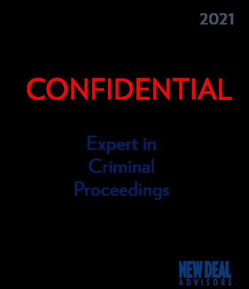 expert in Criminal Proceedings
