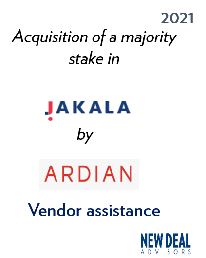 Acquisition of a majority stake in Jakala